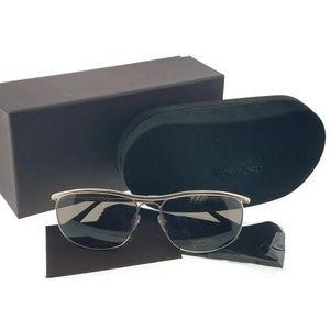 FT0287-28J Tate Unisex Gold Frame Sunglasses